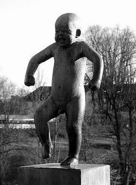 """Vigelands Parken"" in Oslo"