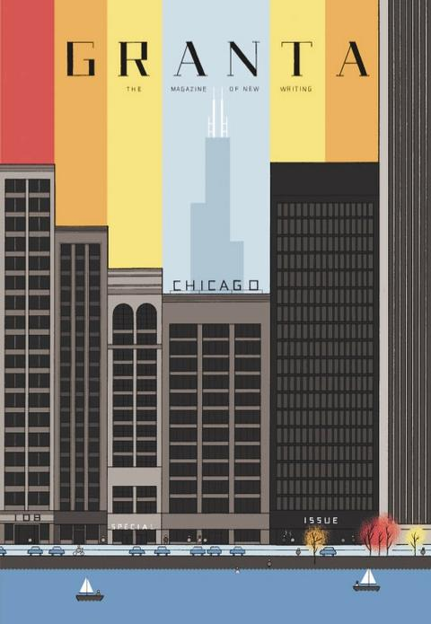 Cover of Granta 108 by Chris Ware